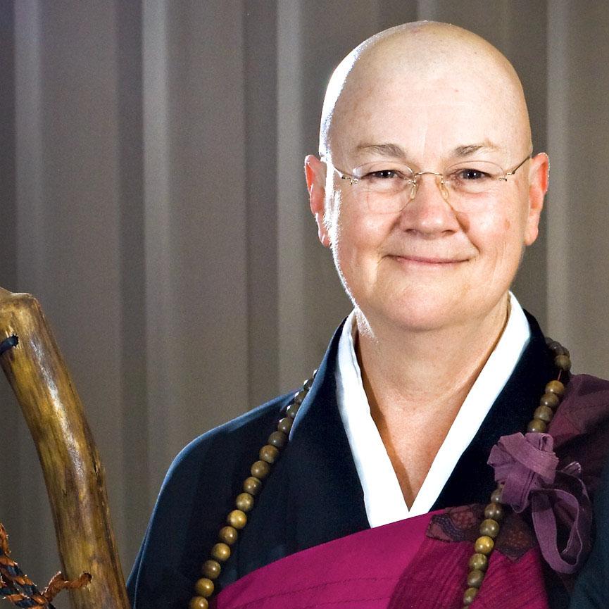 Roshi Enkyo O'Hara of the Village Zendo