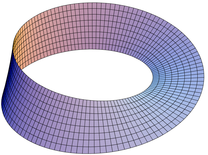 Drawing of a Moebius Surface