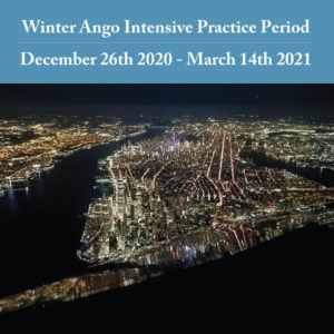 Winter Ango Intensive Practice Period